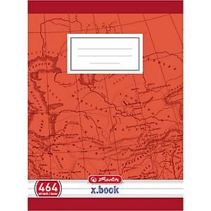 Herlitz iskolai füzet 464, A4 vonalas, szegéllyel