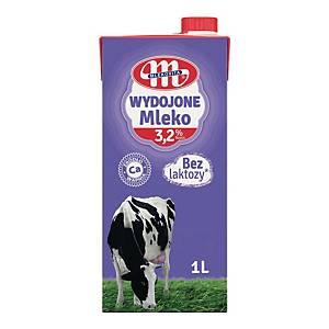 Mleko WYDOJONE UHT, bez laktozy, 3,2%, 1 l