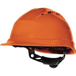Casque de sécurité Deltaplus Quartz Up IV, orange