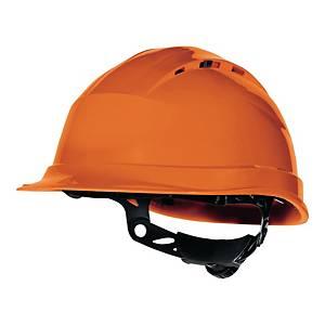 Hełm DELTA PLUS Quartz Up IV, pomarańczowy