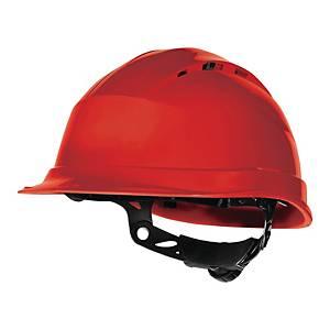 Bezpečnostná prilba Deltaplus Quartz Up IV, oranžová