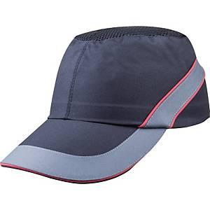Nárazuvzdorná kšiltovka DELTAPLUS AIR COLTAN, kšilt 7 cm, černá