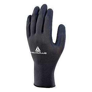 VE630 latex kesztyű sokoldalú használatra, szürke/fekete, méret: 7