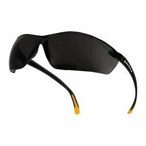Schutzbrille Deltaplus MEIAFU, Filtertyp 5, schwarz, Scheibe rauch
