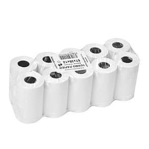 Papírová rolka do kalkulaček a pokladen, šířka 57 mm, průměr rolky 35 mm