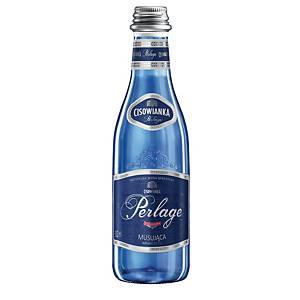 Woda mineralna CISOWIANKA Perlage gazowana, zgrzewka 24 butelki x 300 ml