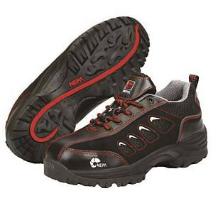 NEPA 14N SAFETY SHOES SIZE 40.5 BLACK