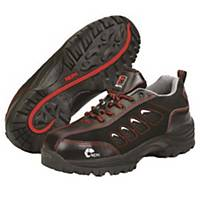 NEPA 14N SAFETY SHOES SIZE 42 BLACK