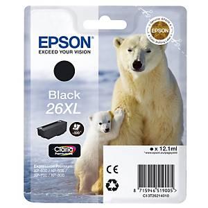 Cartucho de tinta Epson T262140 para Expression Premium XP-510/525 - negro