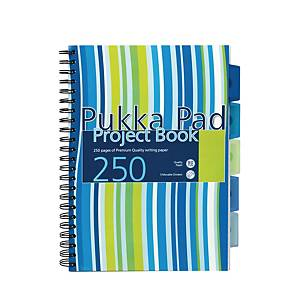 Pukka Pads ProbA4 Project Book A4 Ruled Pink/Blue