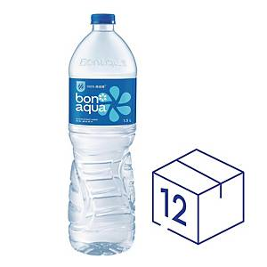Bonaqua Mineralized Water 1.5L - Pack of 12