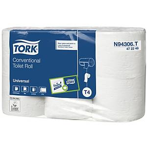 Tork Universal wc-paperi T4, 1 pakkaus=7x6 rullaa