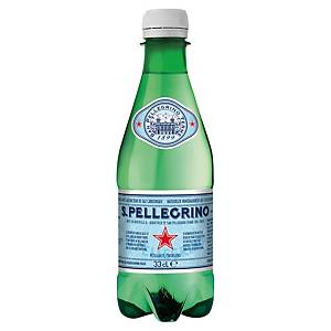 Eau gazeuse San Pellegrino 33 cl - plateau de 24 bouteilles