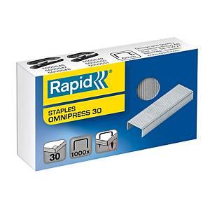 Hæfteklammer Rapid Omnipress 30, pakke a 1.000 stk.