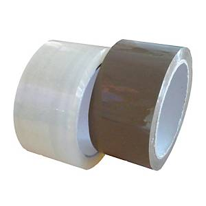 Packing tape, 48 mm x 60 m, 45 μm, brown, 36 pcs