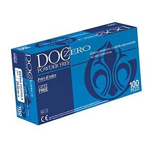 Guanti monouso Gardening Doc Zero in nitrile tg 9/L - conf. 100