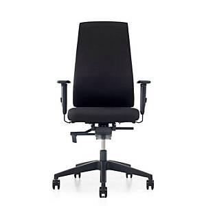 Prosedia Se7en Edition bureaustoel met universele wielen, stof, zwart