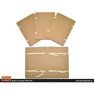 Szalagos irományfedél környezetbarát, 20 darab/csomag