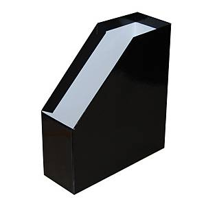 SOMOGY MAGAZINE RACK A4 11CM EXTRA BLACK