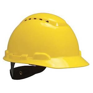 Elmetto 3M H700N dielettrico ventilato giallo