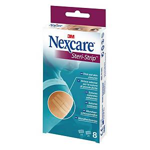 Strisce adesive per sutura 3M Nexcare Steri Strip - conf. 8