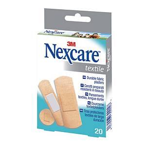 Cerotti in tessuto 3M Nexcare™ textile assortiti - conf. 20
