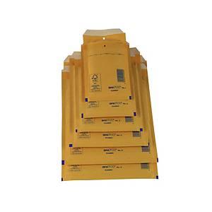 Pack de 10 bolsas de burbujas AroFol nº 11 - 100 x 165 mm - kraft