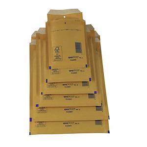 Pack de 10 sacos de bolhas AroFol n.º 12 - 120 x 215 mm - Kraft
