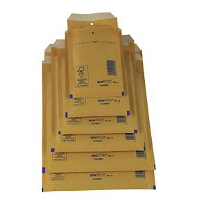 Pack de 10 bolsas de burbujas AroFol nº 19 - 445 x 300 mm - kraft