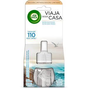 Recarga ambientador elétrico Air Wick - 19 ml - aroma Oásis Turquesa