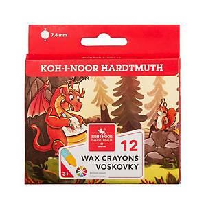 Voskovky Koh-i-noor barevné, balení 12 kusů