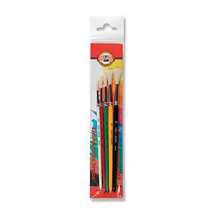 KOH-I-NOOR SCHOOL ROUND BRUSHES ASS