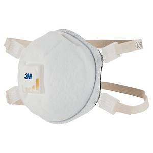 Atemschutzmaske  mit Ausatemventil, 3M 9928, Typ FFP2, Packung à 10 Stück