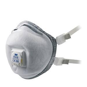 Respiratore a conchiglia 3M 9928 FFP2 con valvola - conf. 10
