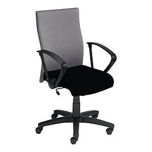 DEXTER MANAGEMENT OFFICE CHAIR BLK/GR