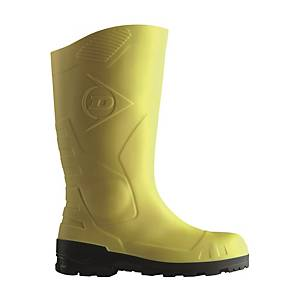 Dunlop H142.211 Devon Safety Boots 44 Yellow