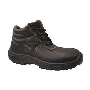 法國TEC K801 纖維頭纖維底安全鞋 38碼