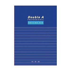 Double A 單行簿  混色 A4