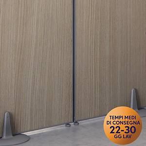 Raccordo rettilineo per parete modulare per open-space Meco Office Arredo