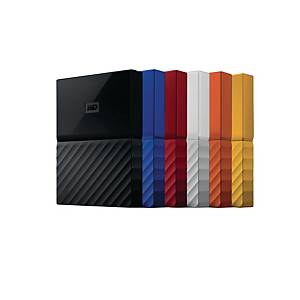 WESTERN DIGITAL ASSORTED COLOUR MY PASSPORT ULTRA USB3.0 2TB