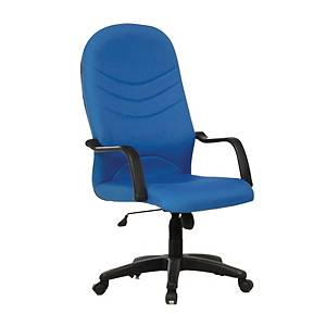 Artrich BL2000HB Fabric High Back Chair Blue