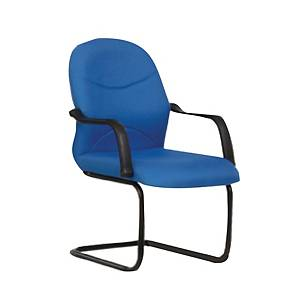 Artrich BL2003V Fabric Visitor Chair Blue