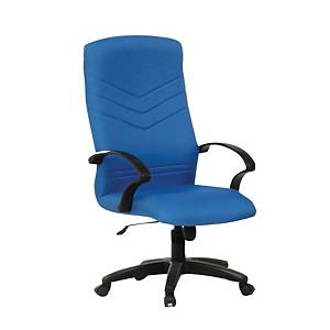 Artrich BL2100HB Fabric High Back Chair Blue