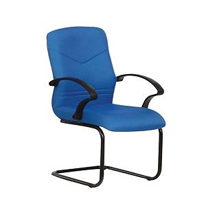 Artrich BL2103V Fabric Visitor Chair Blue