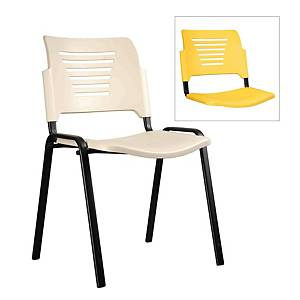 Artrich Stackable Training Chair Yellow