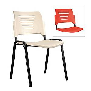 Artrich Stackable Training Chair Red