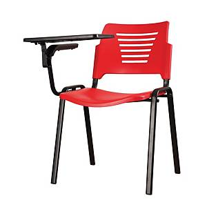Artrich Training Chair With Writing Tablet Red