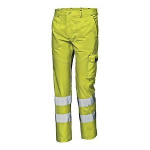 SIR SAFETY 34939 MISTRAL TROUSER YLLW 52