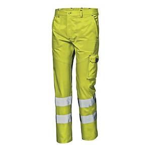 Spodnie ostrzegawcze SIR SAFETY SYSTEM Mistral, żółte, rozmiar 56
