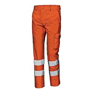 Spodnie ostrzegawcze SIR SAFETY SYSTEM Mistral, pomarańczowe, rozmiar 52